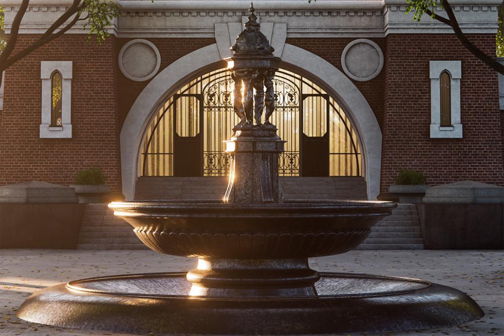 «Серебряный фонтан» от группы «Эталон»