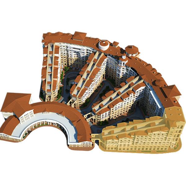 За год в Москве сдадут до 500 тыс. кв. метров апартаментов