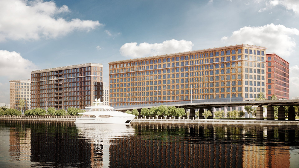 Ипотека 10% от Банка Москвы в лофт-квартале Docklands
