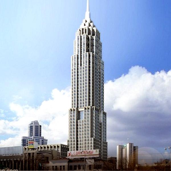 В Екатеринбурге построят небоскрёб с апартаментами