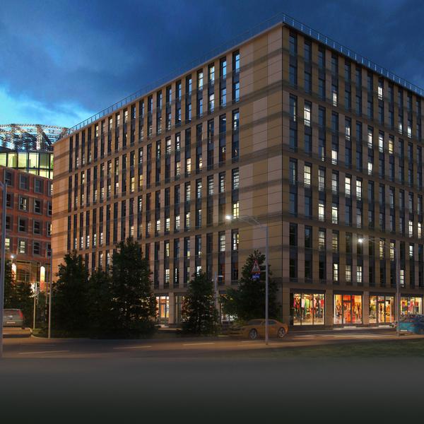 Апарт-отель в скандинавском стиле украсит деловой квартал