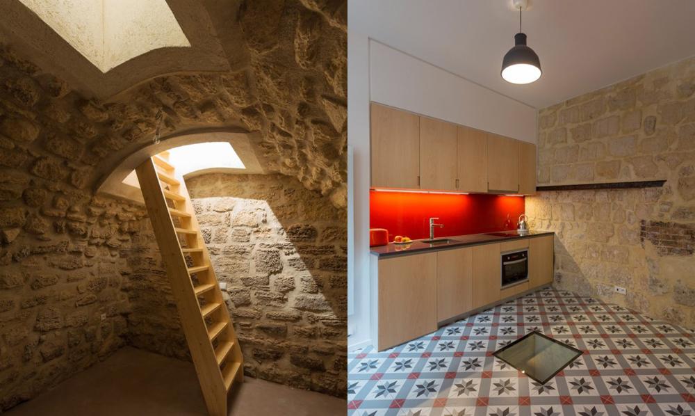 Лофт XVII века: в Париже под стильную студию обустроили старинные апартаменты