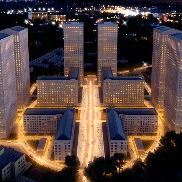 Застройка Москвы с помощью реновации промышленных зон
