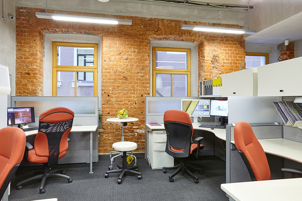 Офис в стиле лофт: TG Office Furniture