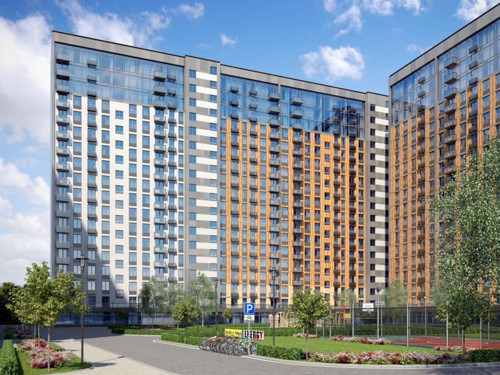 В квартале «Березовая аллея» приступили к смене юридического статуса апартаментов и планируют до концу года завершить процесс их перевода в жилые помещения