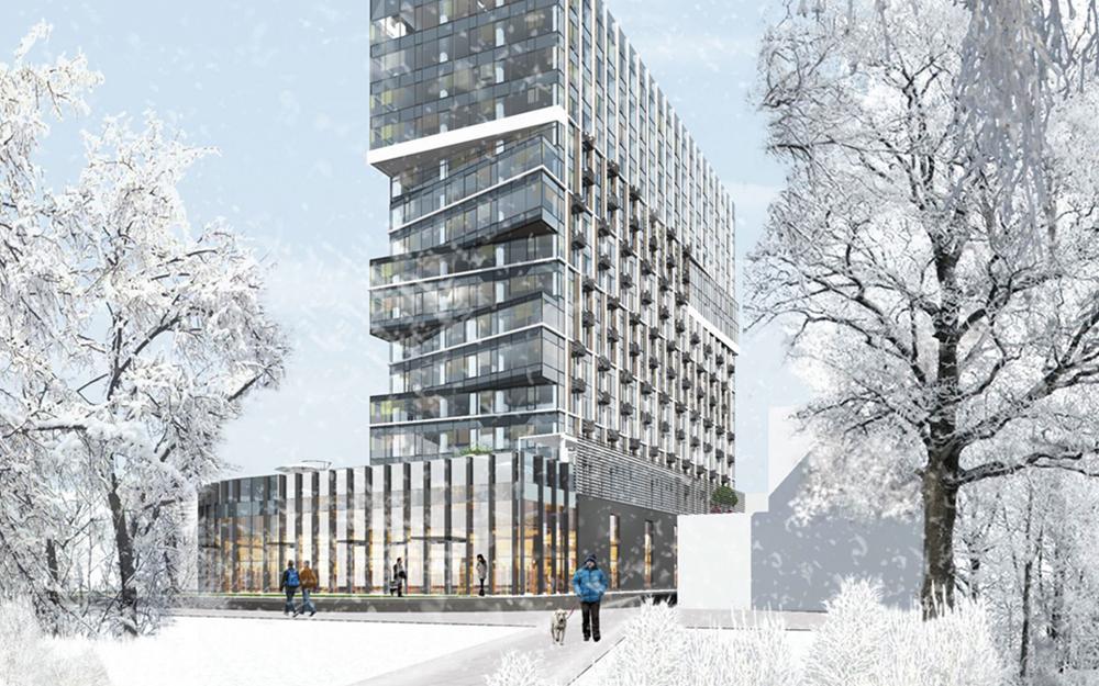 В бывшей промзоне ЗИЛа решили построить апарт-отель