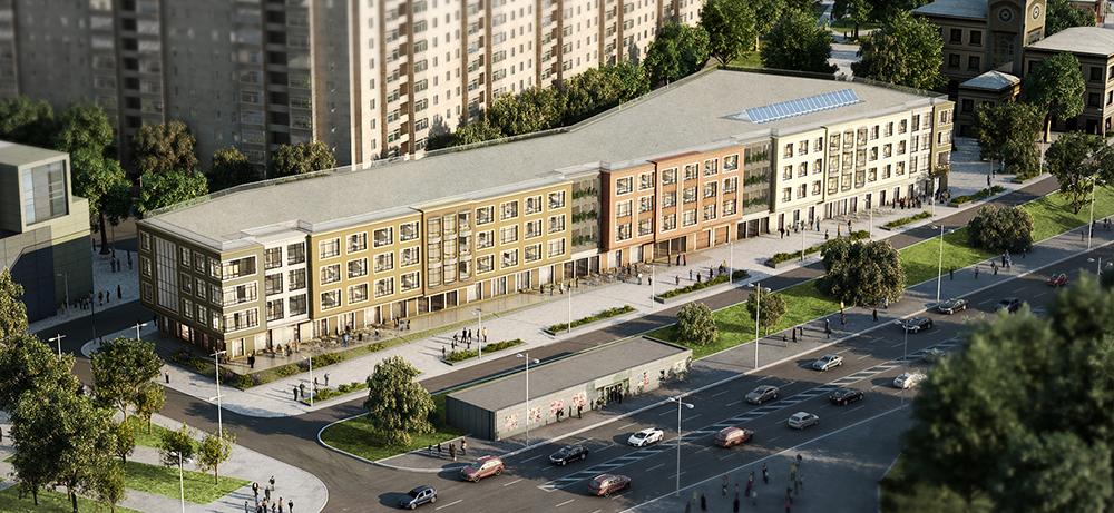 Апартаменты Classico построят на Олимпийском проспекте