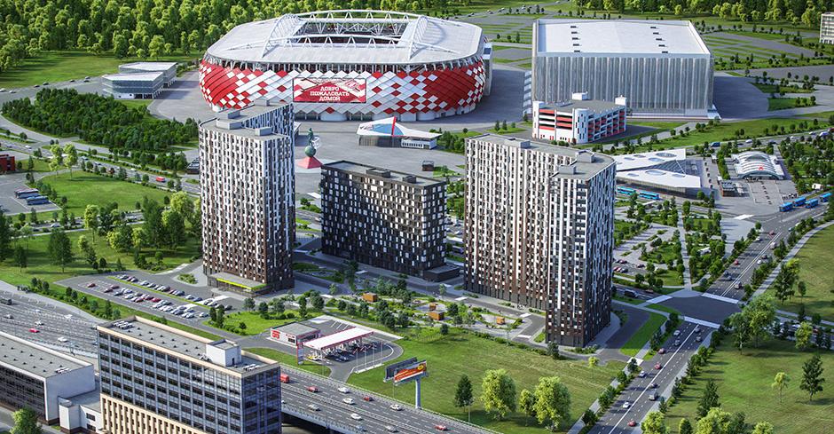 Сбербанк аккредитовал апарт-комплекс «Движение. Тушино»