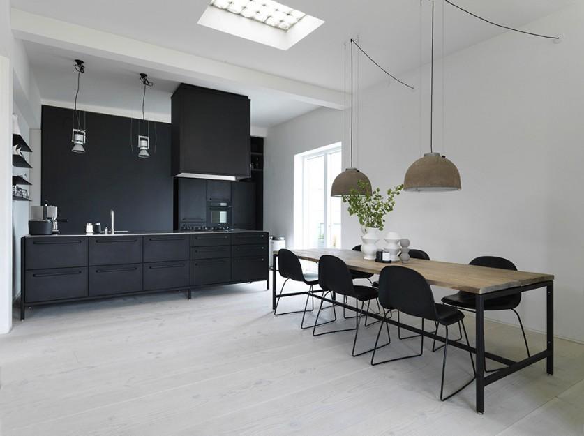Датский архитектор выбирает очаровательный лофт
