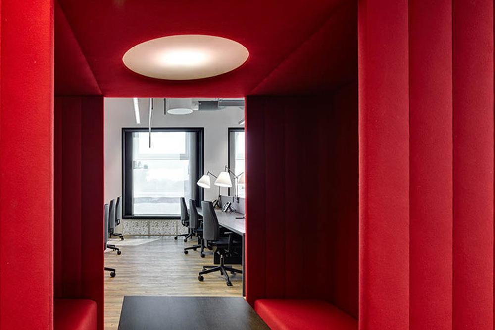 Офис в стиле лофт: Actis Wunderman