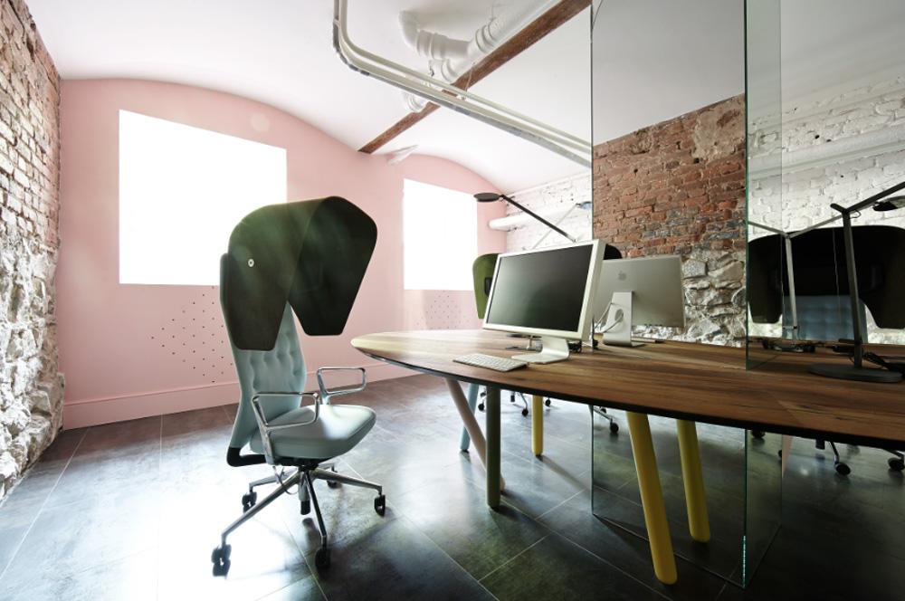 Офис в стиле лофт: Proekt Agency
