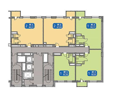«Двушки» – самые популярные апартаменты