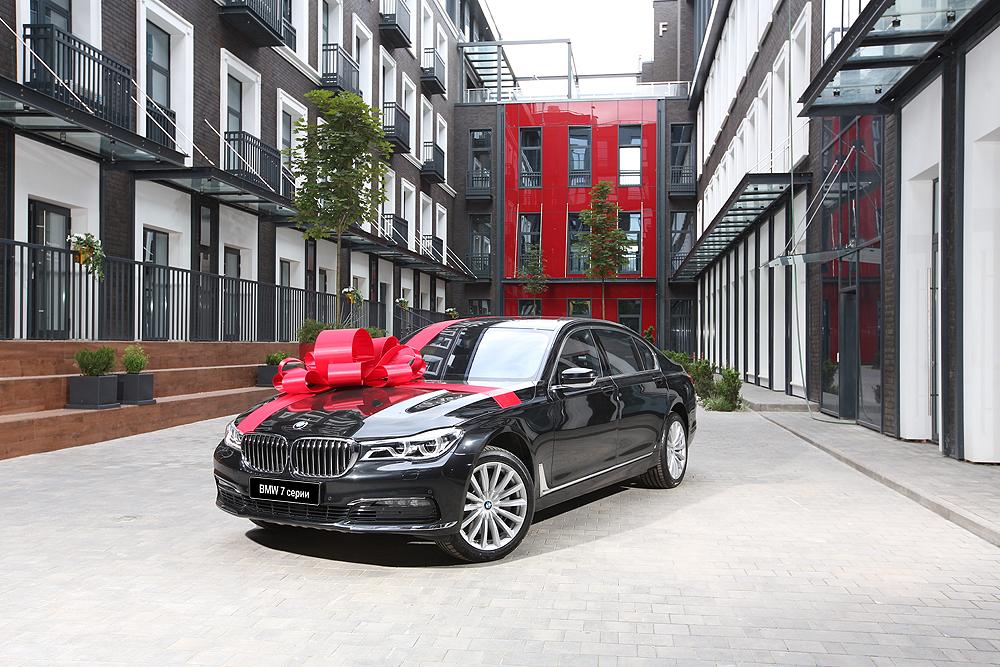 Девелопер STONE HEDGE дарит BMW