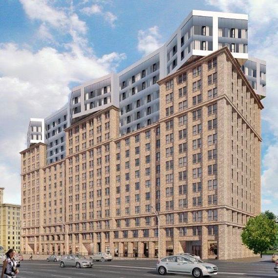 На Варшавском шоссе в Москве возведут гостиницу с апартаментами