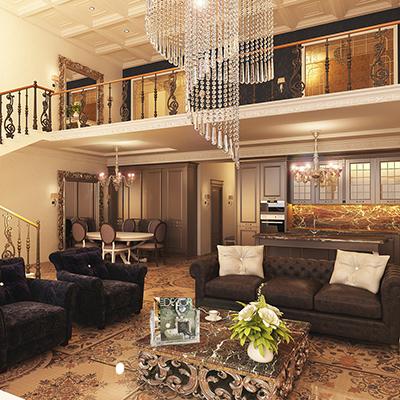 Апартаменты TriBeCa: классика или hi-tech