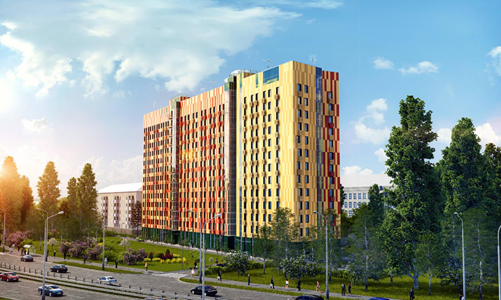 Новый гостиничный апарт-комплекс Cleverland построят в Марфино