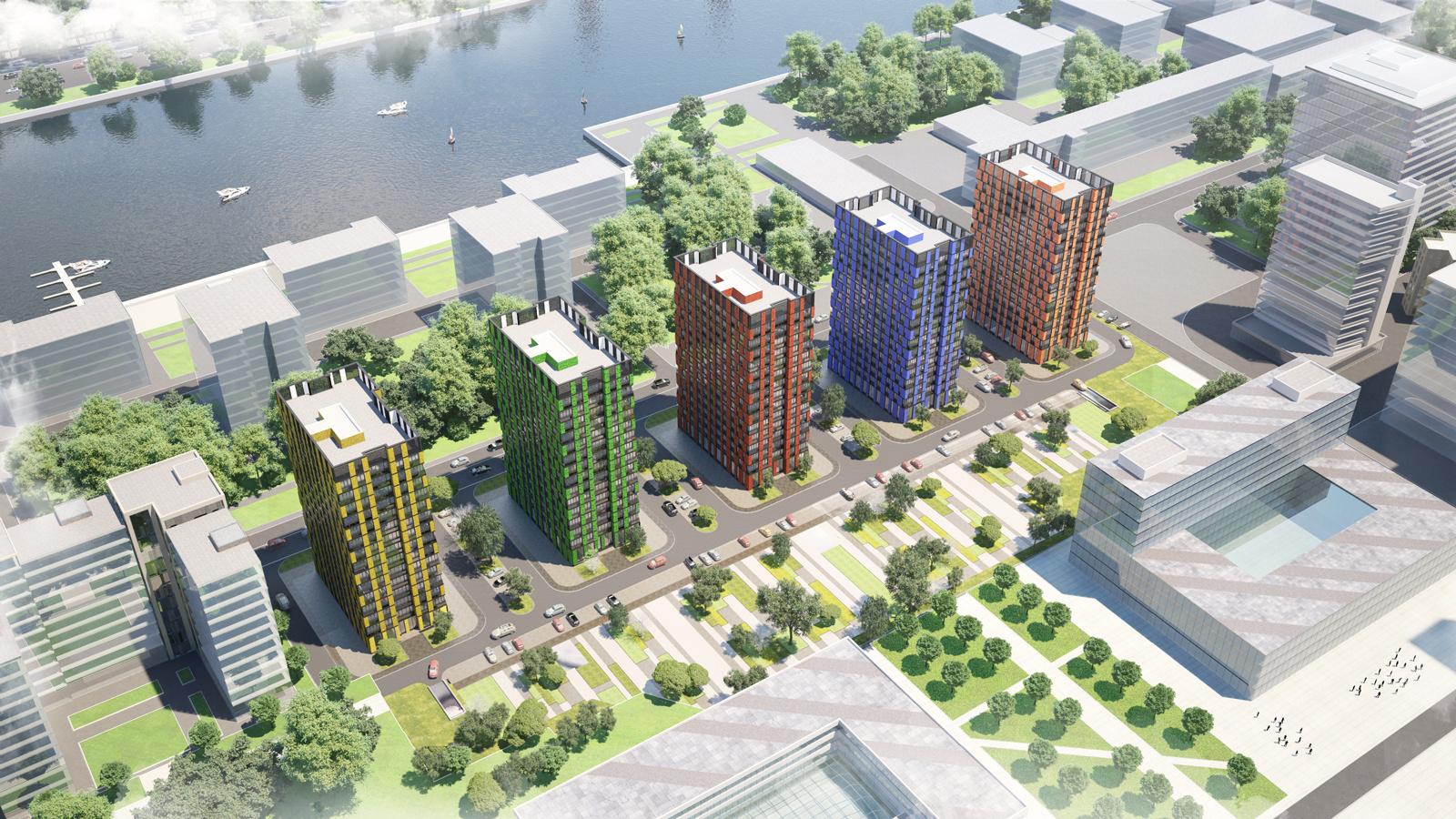 Эксперты назвали районы Москвы с наибольшим количеством апартаментов в продаже