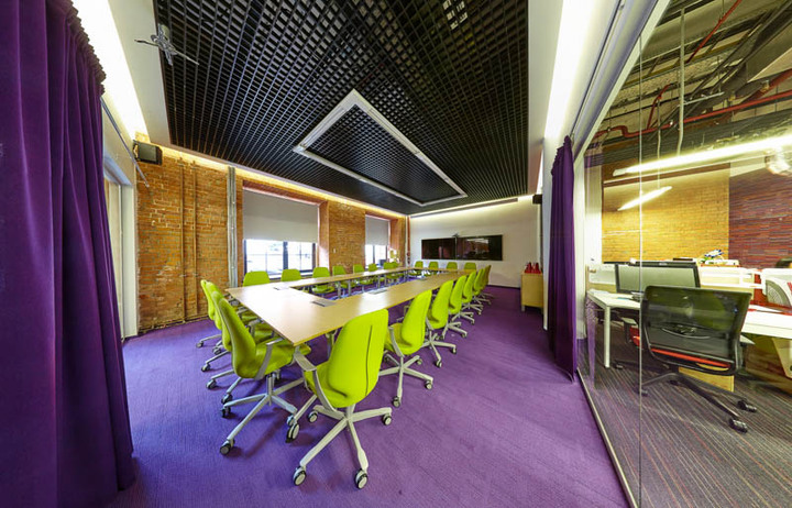 Офис в стиле лофт: SPN Communications