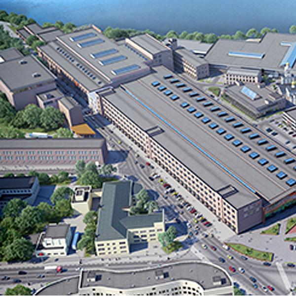 Новое деловое пространство столицы в пределах ТТК