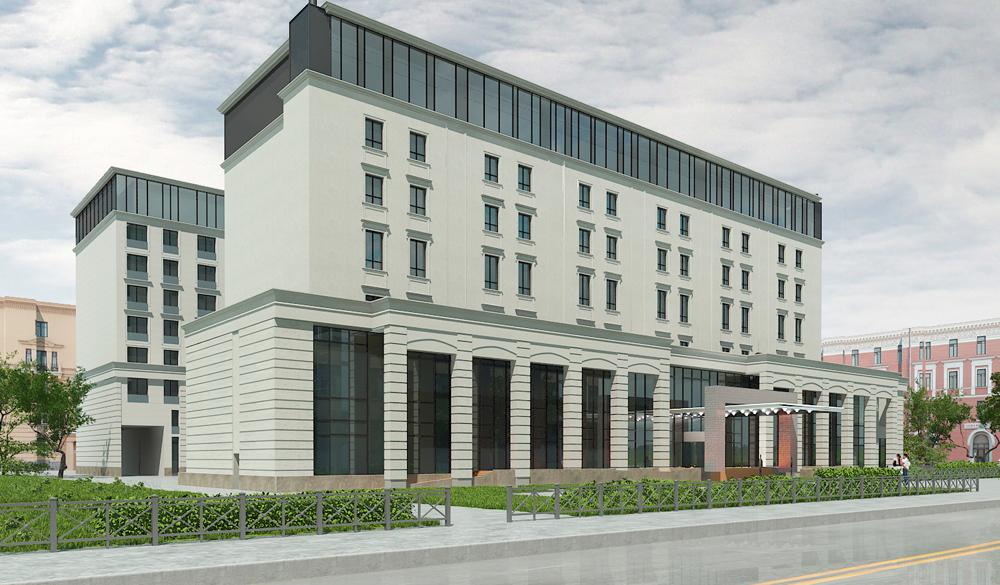 Китайский проект с апарт-отелем в Петербурге – к следующему Новому году