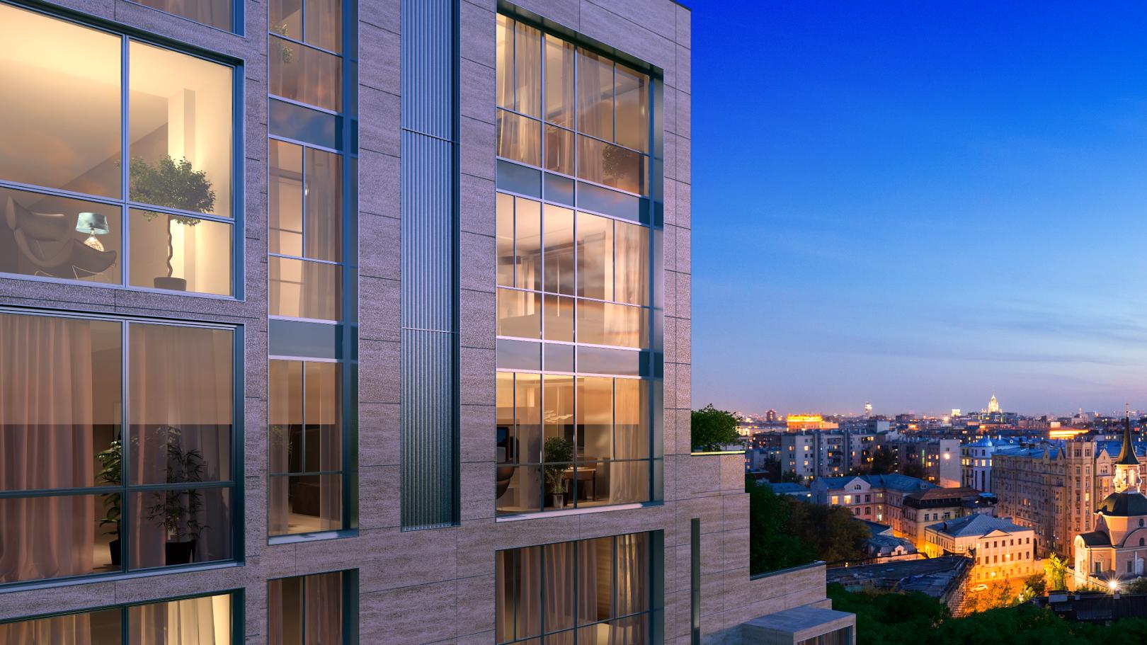 В центре Москвы построят комплекс апартаментов бизнес-класса «Басманный,5»