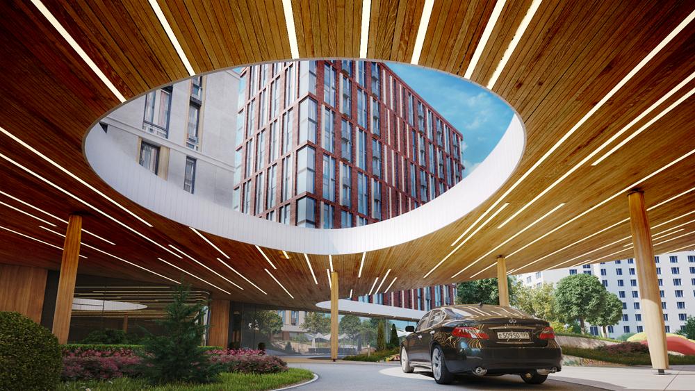«Воробьев дом» с апартаментами построят в самом зеленом районе Москвы
