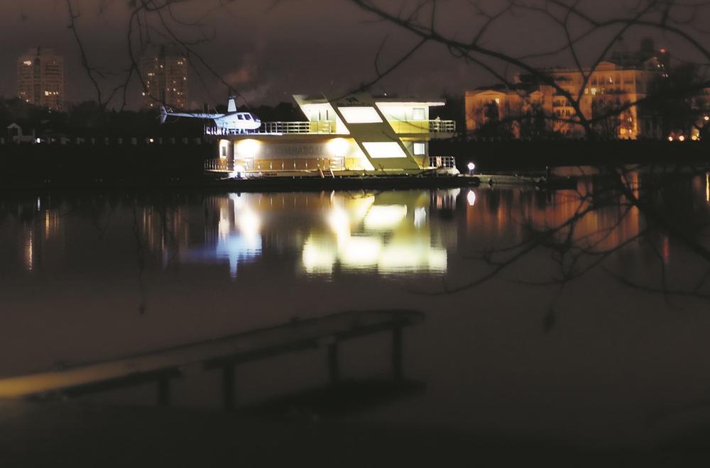 Москвичи смогут поселиться в апартаментах на воде