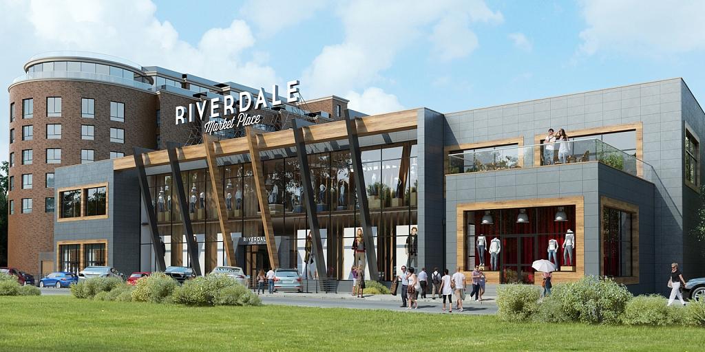 Компания Glincom объявила о сдаче в эксплуатацию комплекса Riverdale