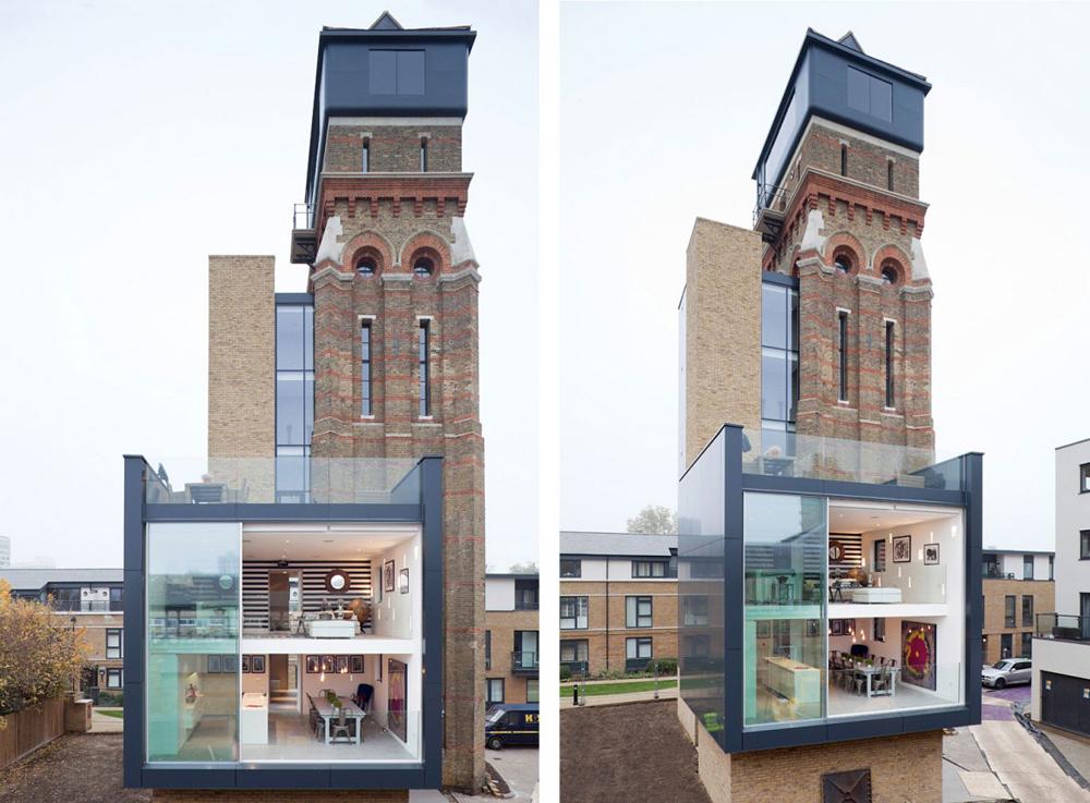 Апартаменты в сказочной водонапорной башне