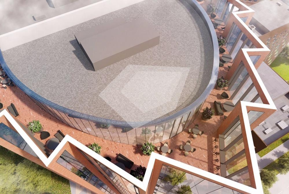 Проект бизнес-центра DM Tower запустили в «Даниловской мануфактуре»