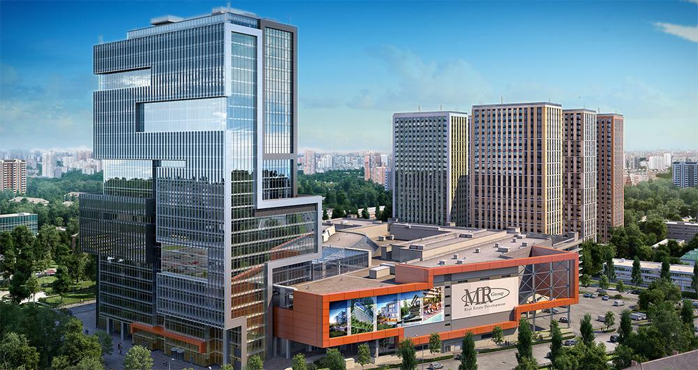 БЦ «Лотос» и МФК «Водный» – лучшие реализованные проекты в области строительства