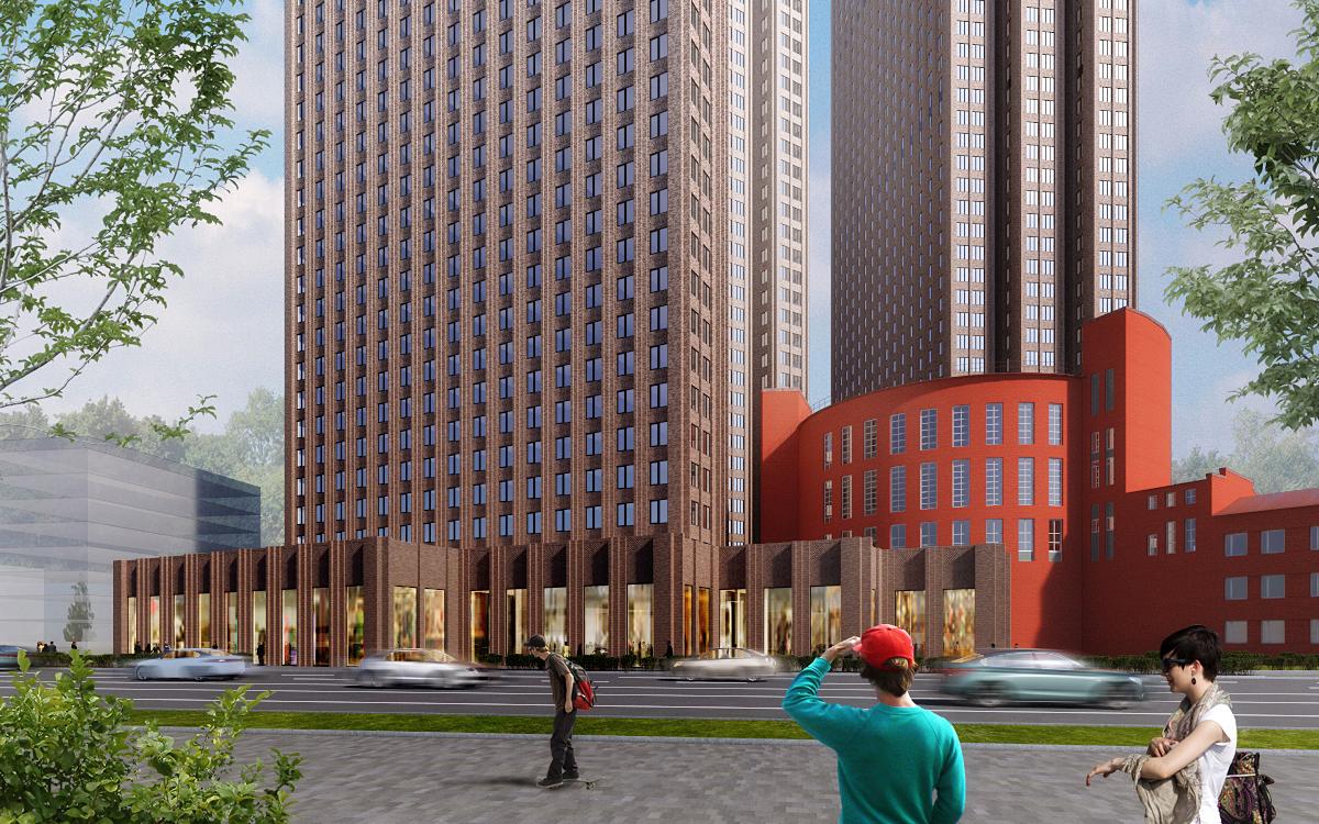 На Пресне появится апарт-квартал в стиле Нью-Йорка