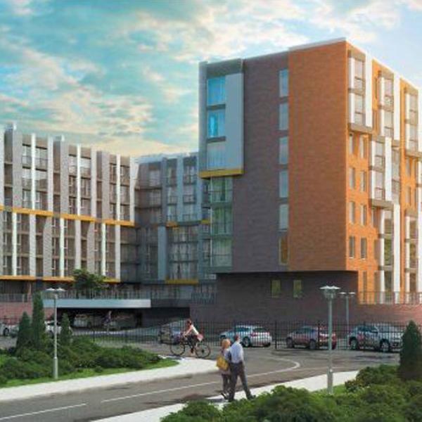 Новая застройка сервис-квартир на юго-западе Москвы