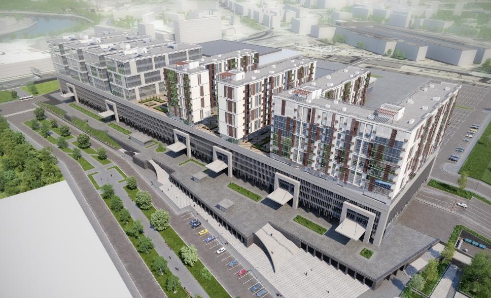 Апартаменты в окружении удобной инфраструктуры
