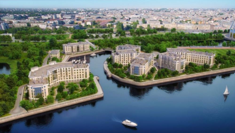 Банк аккредитовал элитный комплекс апартаментов, который строят на Петровском острове в Санкт-Петербурге