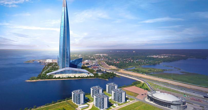 Газпромовские апартаменты на Лахте