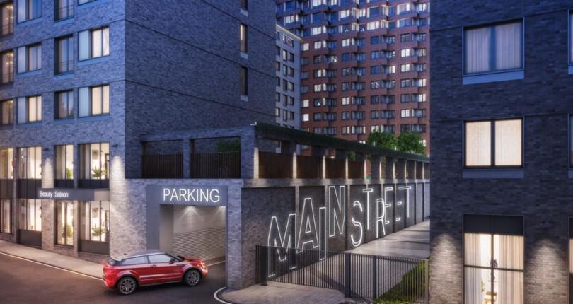 Новая основа проекта MainStreet