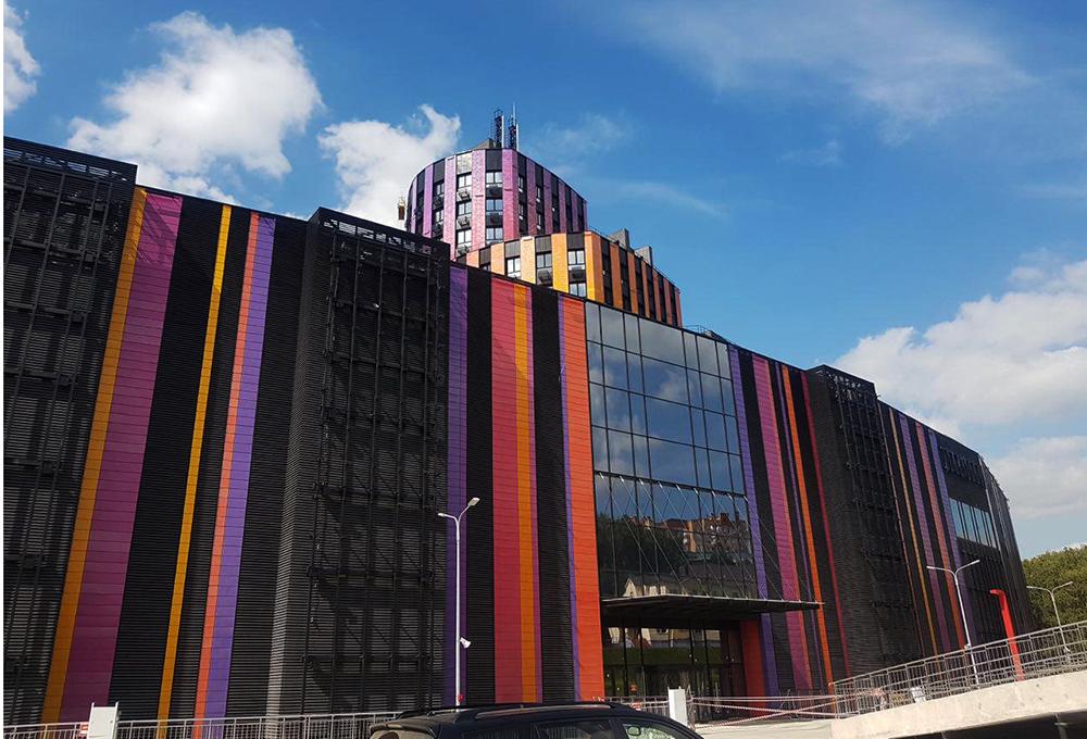 «ВОЛГА-ТРЕЙД» построила МФЦ с апартаментами
