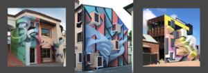 Стрит-арт делает стены объемными