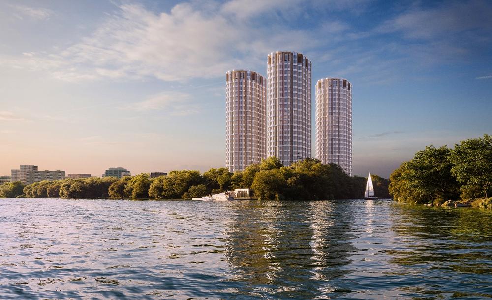 Апартаменты «Level Стрешнево» у Москва-реки и Сходни